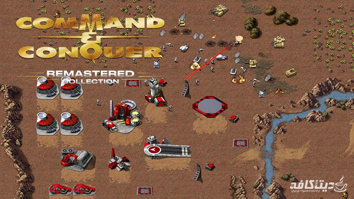 گیفت استیم بازی Command & Conquer نسخه ریمستر کالکشن