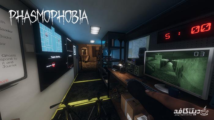 گیفت اورجینال بازی phasmophobia
