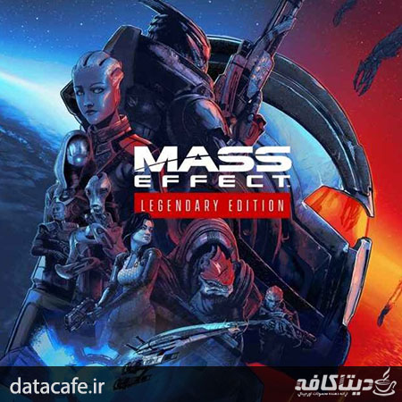 سی دی کی بازی mass effect legendary edition